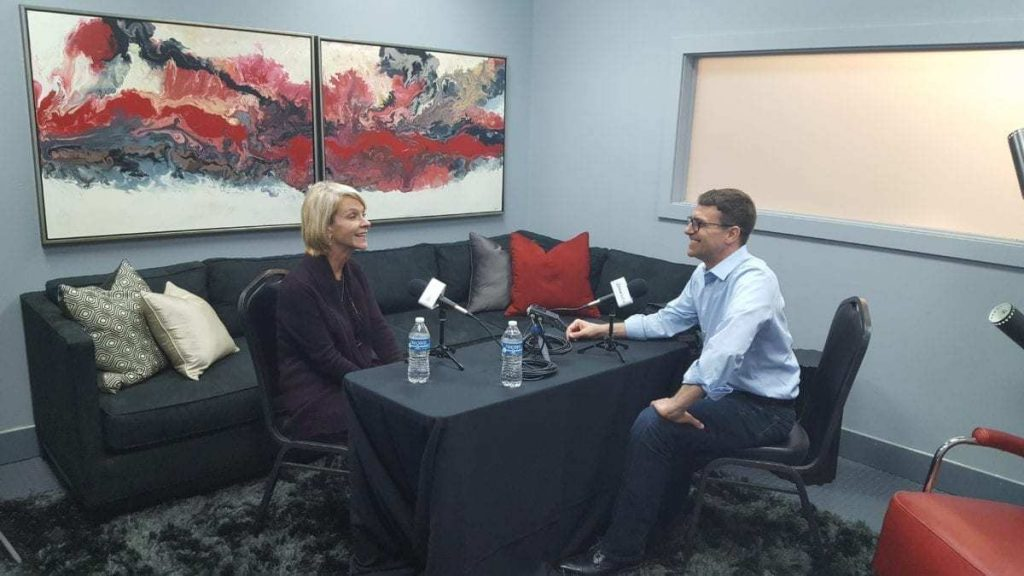 """Priscilla """"Bo"""" Marconi of the Marconi Automotive Museum is interviewed by Tom Smith for the iDriveSoCal Podcast"""