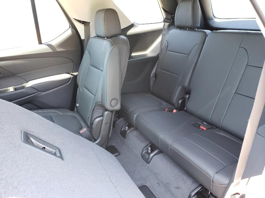 2019 Chevy Traverse review - 3rd row seating access from outside