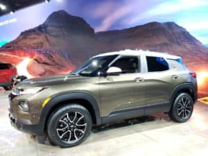 2021 Chevrolet Trailblazer driver profile